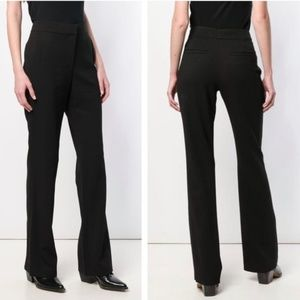 A.L.C. Black Bootcut Trousers Size 8